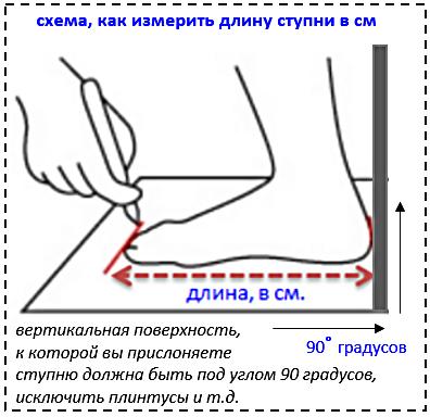 Как сделать маленький размер ноги